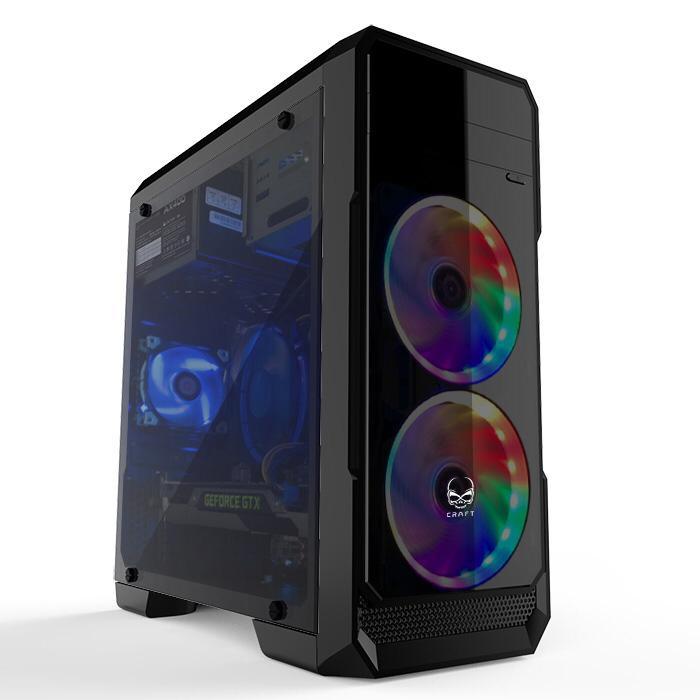 F062 樂天電腦 Intel I5-10400F /GEFORCE 710 2G 獨立顯示卡 /D4 2666 8G /240G SSD 家用文書辦公室组合 [免費送貨] $2799