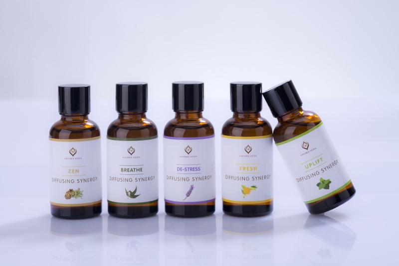 100%純天然香薰機專用精油-清新 100% Pure & Natural Essential Oils for Diffusers-Fresh 15302R