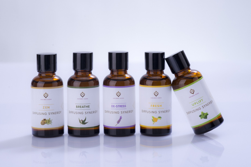 100%純天然香薰機專用精油-減壓 100% Pure & Natural Essential Oils for Diffusers-Destress 15305R