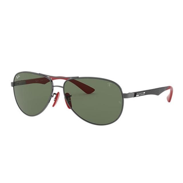 RB8313M SCUDERIA FERRARI COLLECTION 法拉利聯乘綠色鏡片太陽眼鏡| F00171 Green