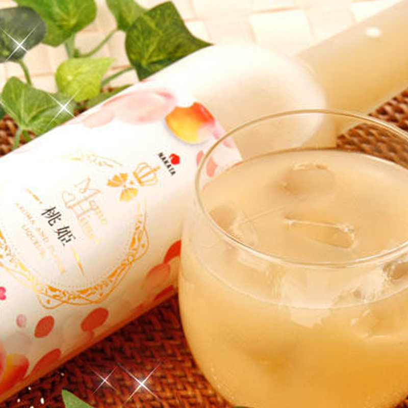 日版 和歌山《桃美人》頂級白鳳桃 南高梅 混合梅酒 500 ml
