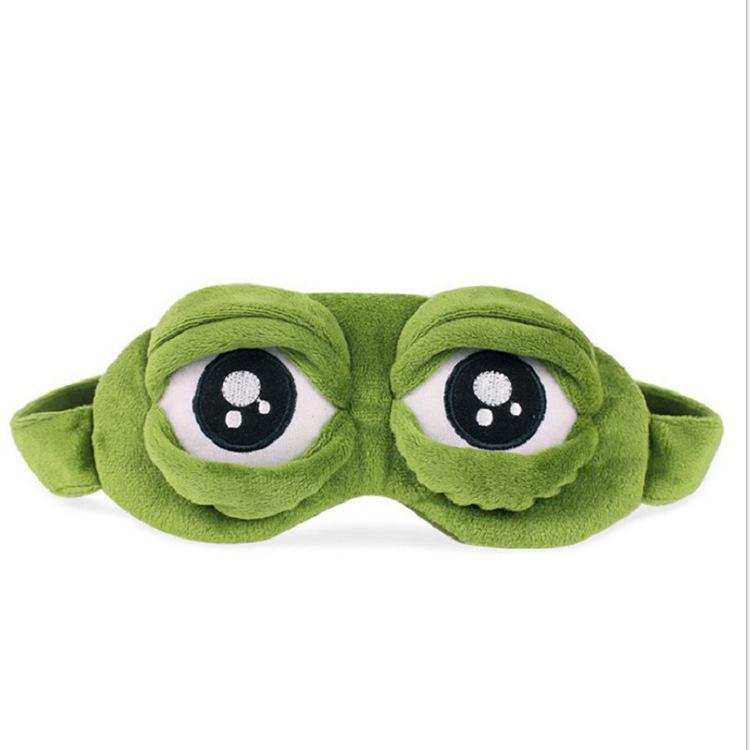 Pepe the Frog 睡眠眼罩