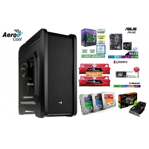 👉AccessPoint終極一劈!!強勁水冷電競組合(連正版WIN10!) x GEFORCE RTX 2060 6G+I5 9400F+DDR4 2666 16G RAM!🔥🔥🔥[第9代 I5-9400F+GEFORCE RTX2060 6G+DDR4 2666 16G RAM+240G SSD+AERO COOL Q240透明側板機箱!!!電競遊戲組合,戰地風雲 5 ]🔥🔥👈
