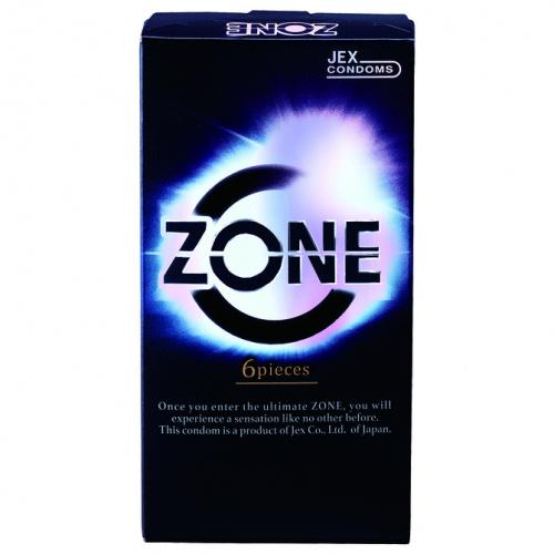 Jex Zone 6片裝 乳膠安全套