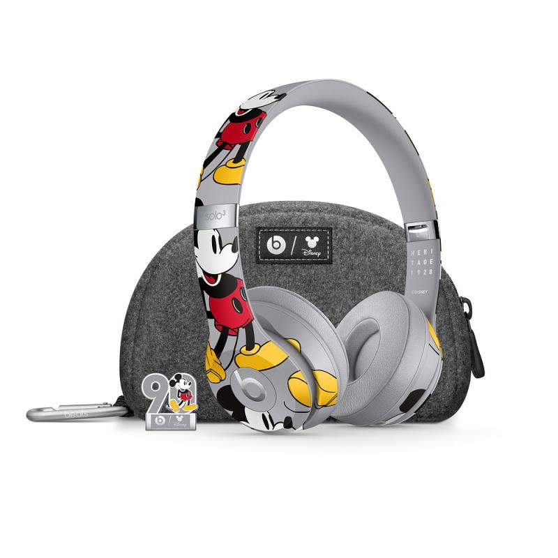 Beats Solo3 Wireless 頭戴式耳機-米奇90周年紀念版