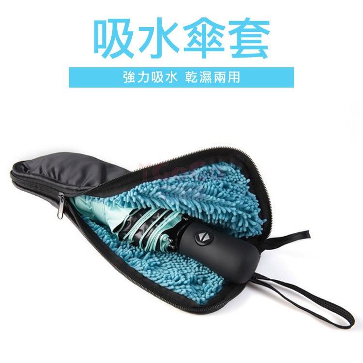 神奇環保吸水雨傘套 [淺藍]