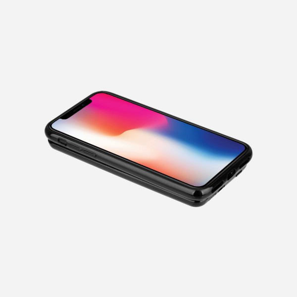 MOMAX Q.Power Pack 磁吸無線充電保護殼 (iPhone X)Q.Power Pack WirelessExternalBattery 4000mAh IP86