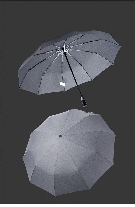 Leodauknow 十骨木柄防風全自動男士晴雨傘 3色