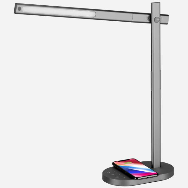 MOMAX Q.Led 座枱燈連無線充電底座Q.LED Wireless Charging Lamp QL1UKD
