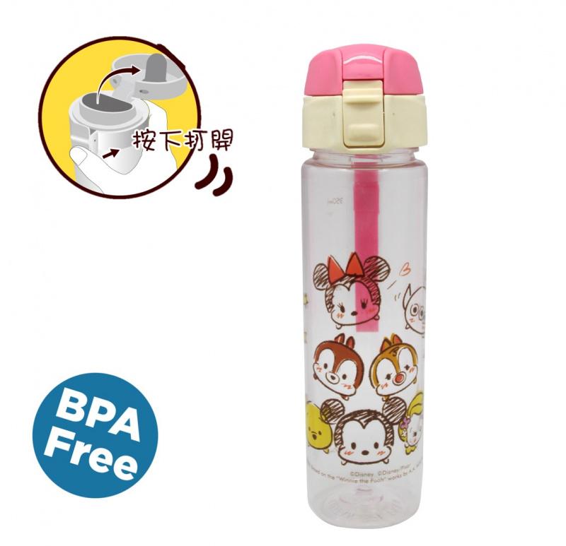TsumTsum/Winnie the Pooh/kumamon/Mickey/魔雪奇緣便攜式水樽附矽膠帶