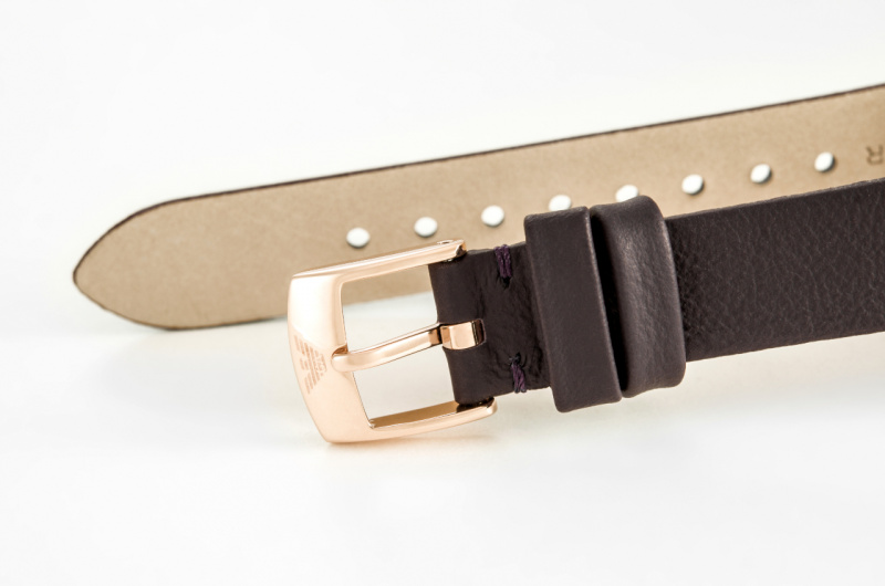 Emporio Armani AR11172 女士大理石紋皮帶手錶
