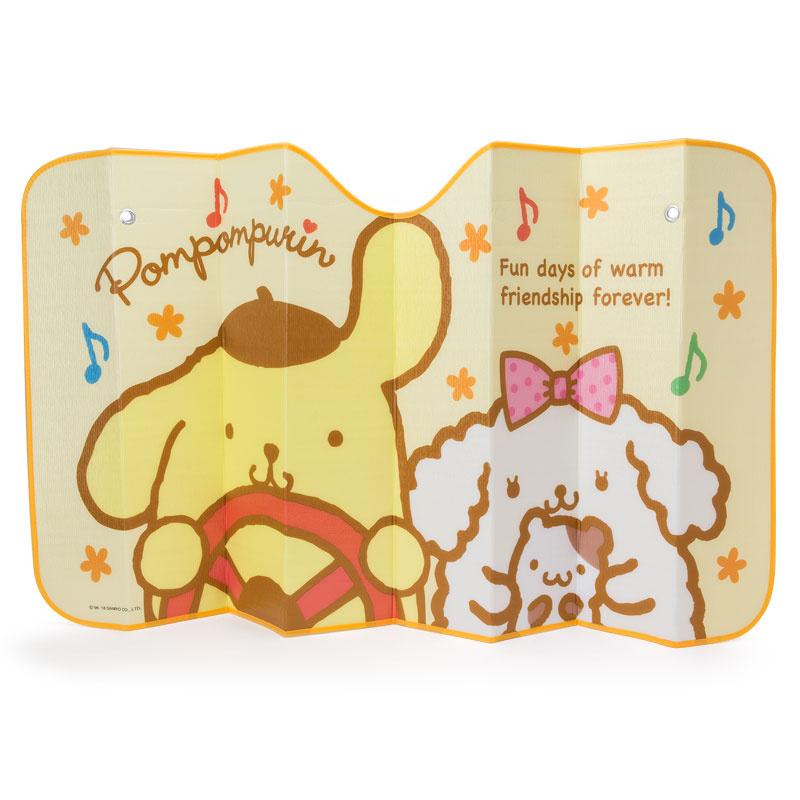 日本SANRIO Hello Kitty / 布甸狗車用遮陽板 [3款]