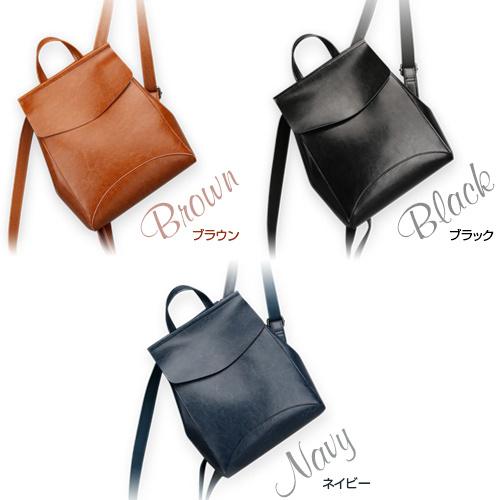 日本本革2WAY Backpack [3色]