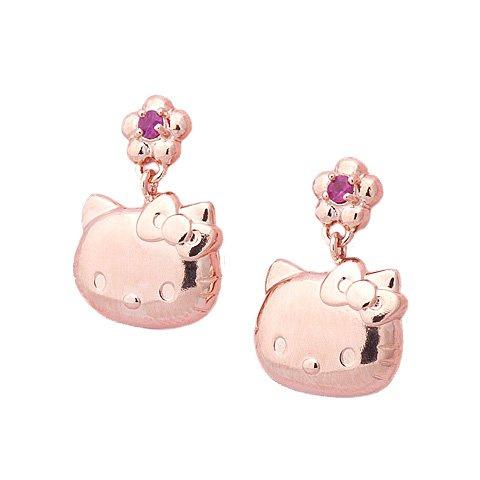 日本SANRIO Hello Kitty 耳環 [2色]