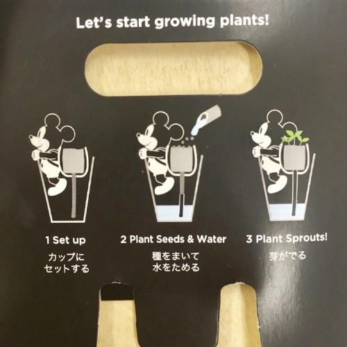 日本Disney米奇公仔盆栽 [2款]