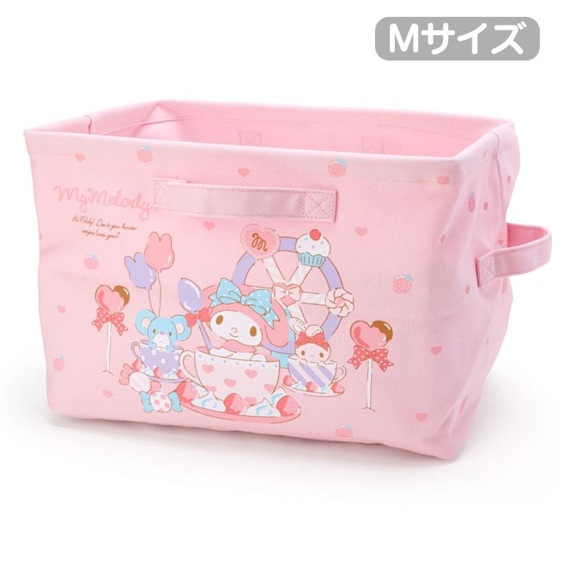 日本SANRIO Hello Kitty 帆布收納籃 [4款]
