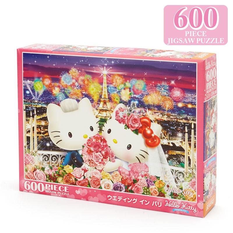 日本SANRIO Hello Kitty 600's 砌圖