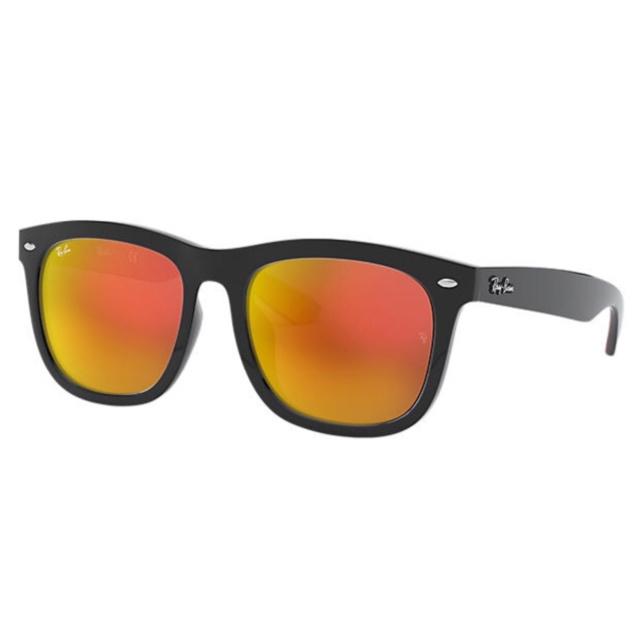 Ray-Ban RB4260D High Street Red Mirror 紅色反光鏡片太陽眼鏡 | 62916Q 黑色鏡框