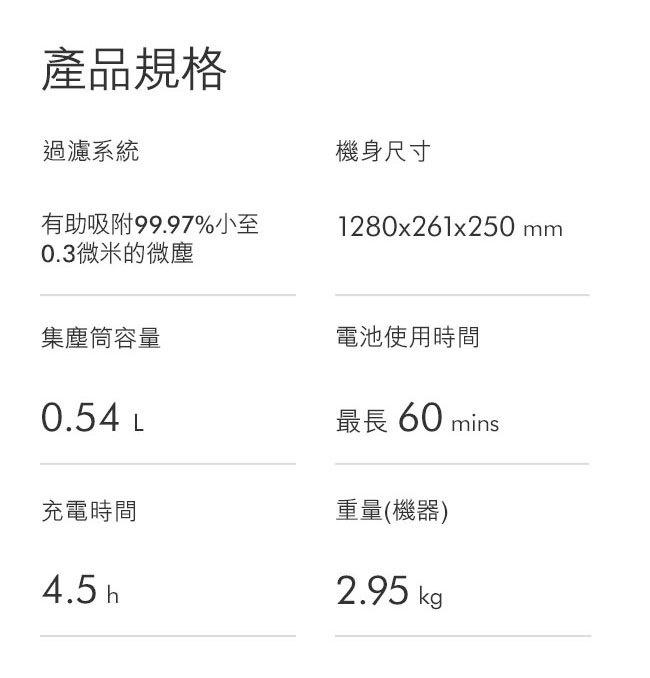 [香港行貨] (2年保養) DYSON V11 Fluffy 無線吸塵機 WT APP 65227066