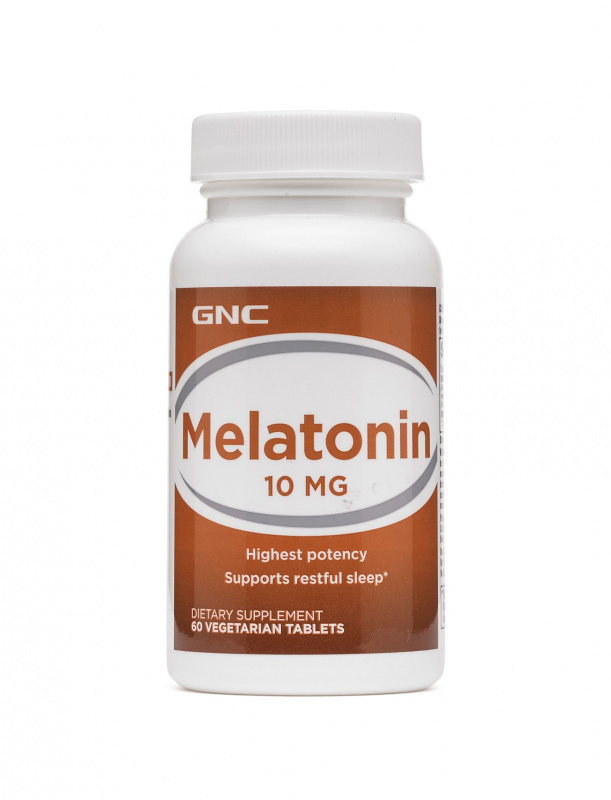 GNC Melatonin 特強甜睡 褪黑素 褪黑激素5mg[60粒]