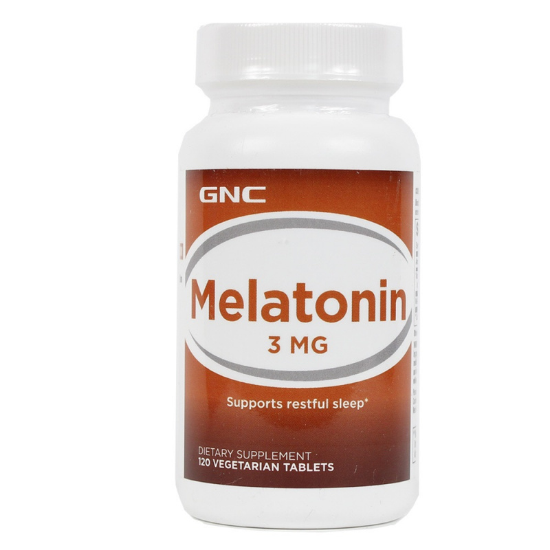 GNC Melatonin 特強甜睡褪黑激素10mg [60粒]