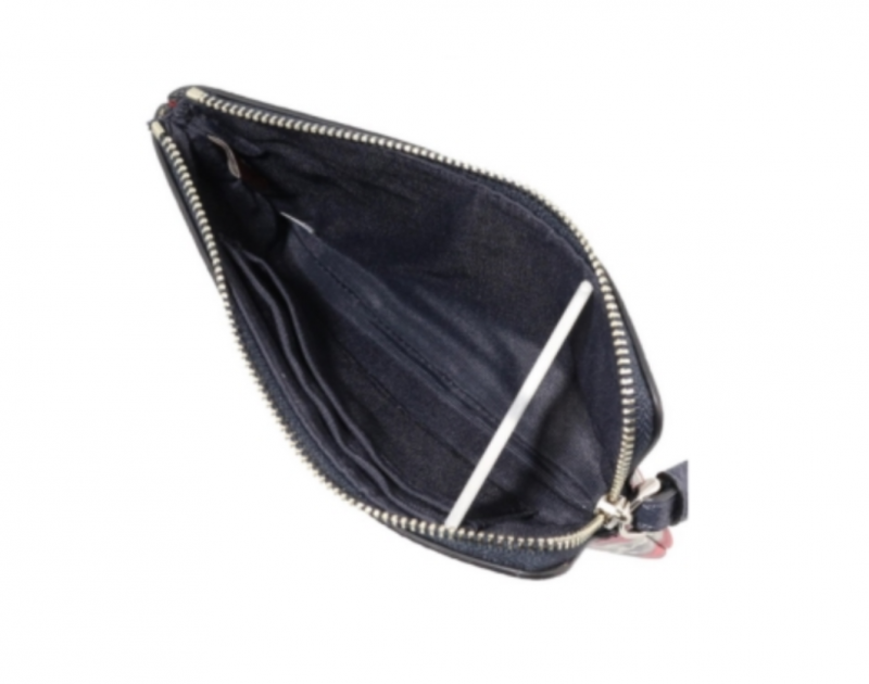 Coach 拉鏈皮革手拿包 [6色]