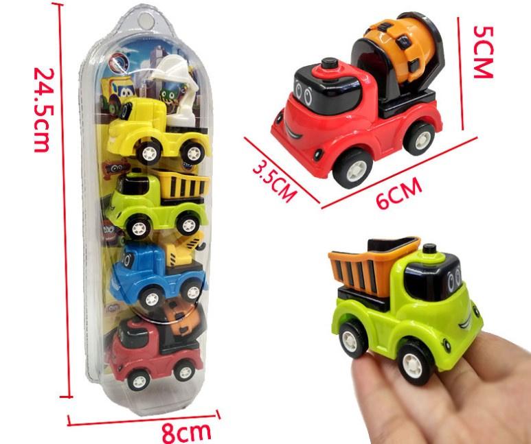 回力玩具車 工程車款 [4件裝]