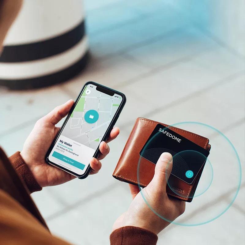 原裝正品 澳洲Safedome 智能藍牙防丟失追蹤卡(無線充電技術)