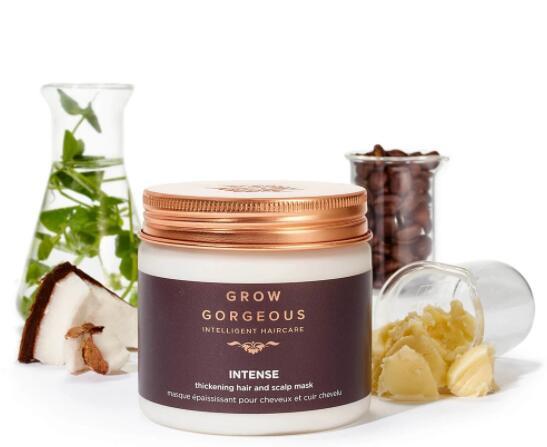 Grow Gorgeous Thickening Hair & Scalp Mask Intense 皇牌增厚頭髮及修護頭皮髮膜 (280ml)