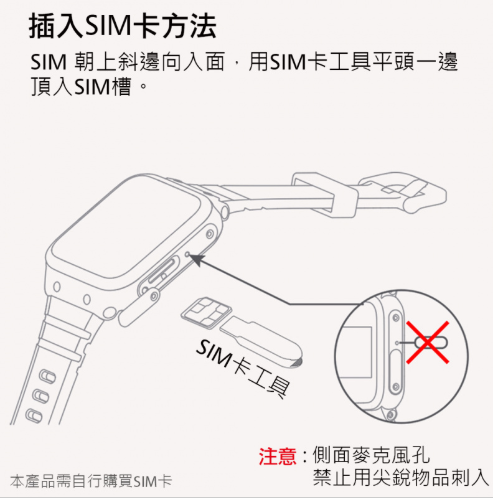 Xiaomi 小米 小尋兒童電話手錶A3 [2色] (平行進口)