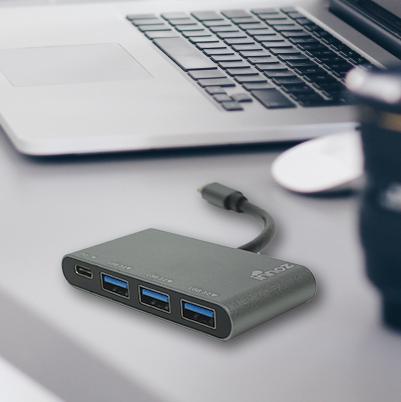 Innoz InnoZone C2 USB3.0 + USB-C PD 4 Port 集線器