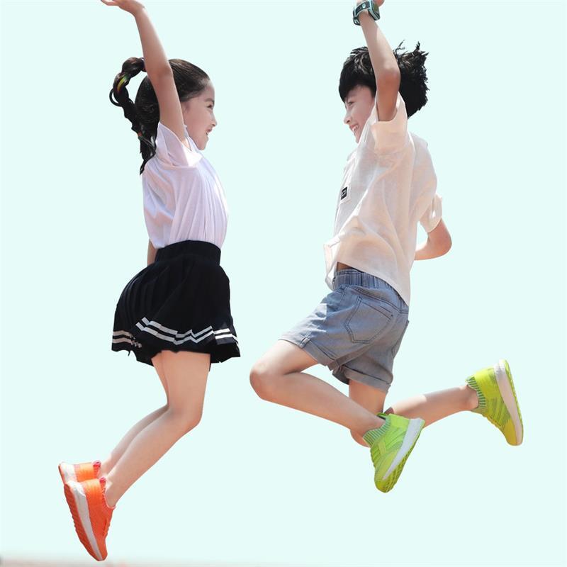小米 小尋爆米花網孔兒童運動鞋