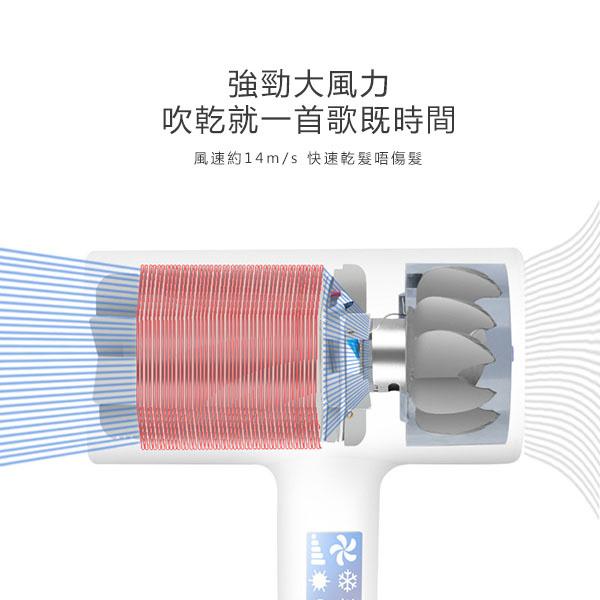 日本JTSK - AI智能變頻多功能藍光千萬級負離子風筒(時尚易用吹風機)