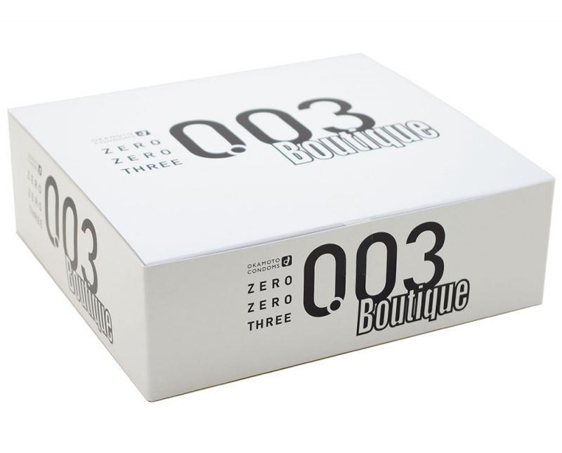 岡本0.03 超薄安全套 (144片盒裝)