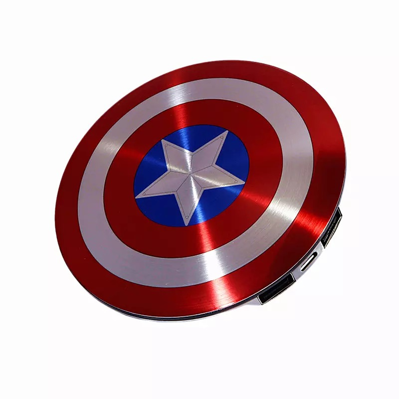 MARVEL萬威正版授權美國隊長移動電源