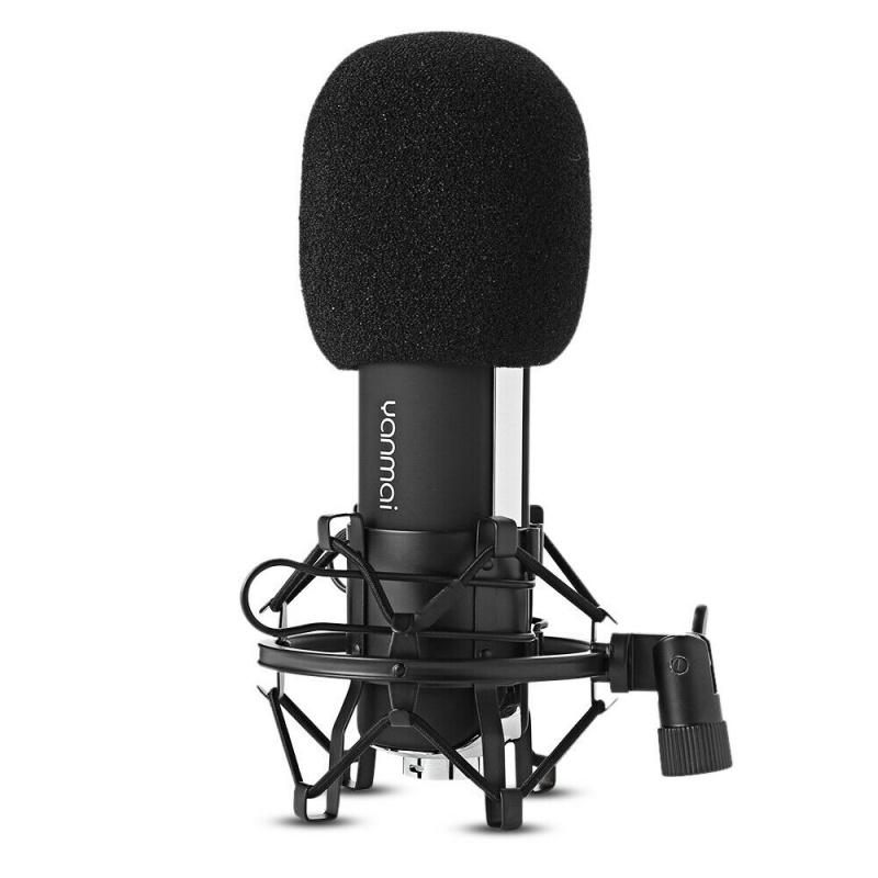 Yanmai Q8 專業級主播麥克風 3.5mm PC 錄音主播專用