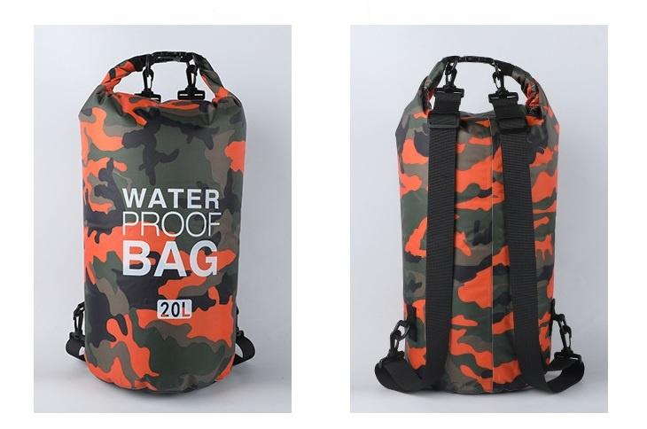 WaterProof Bag 兩用背囊式防水袋 [2容量][2色]