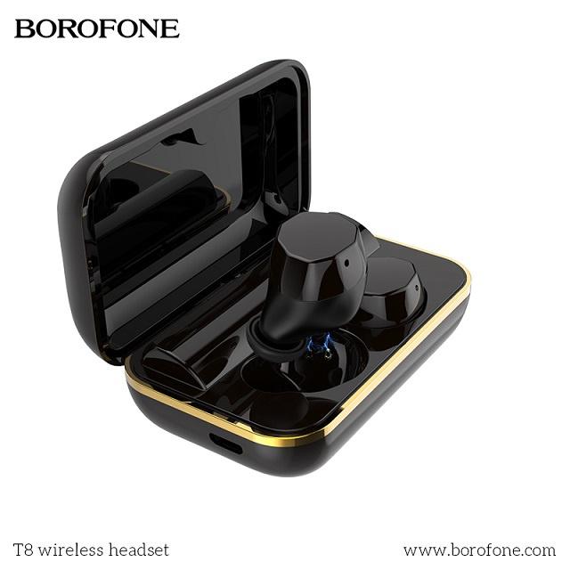 Borofone T8 IPX7 BT5.0 真無線耳機連翻譯機