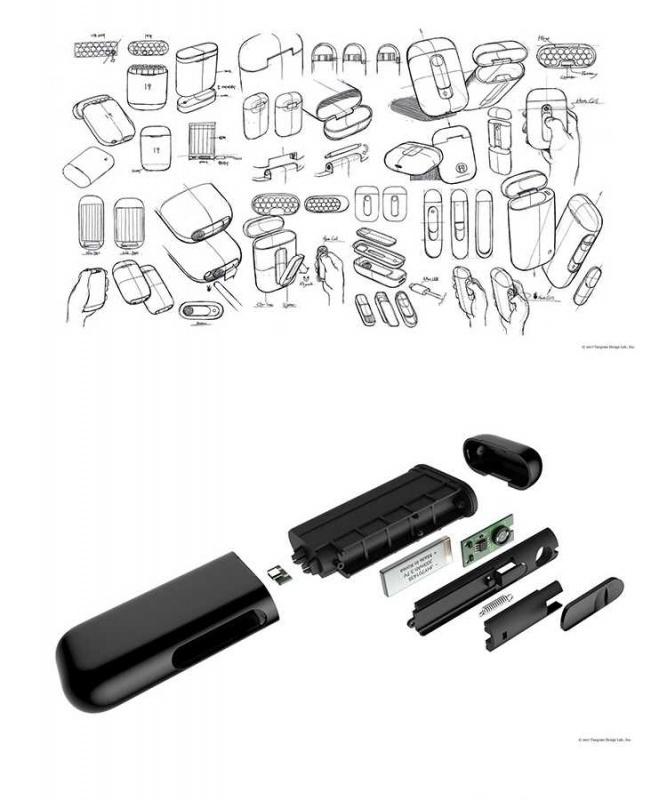 Rooxee 創意煙盒點煙器 [2色]