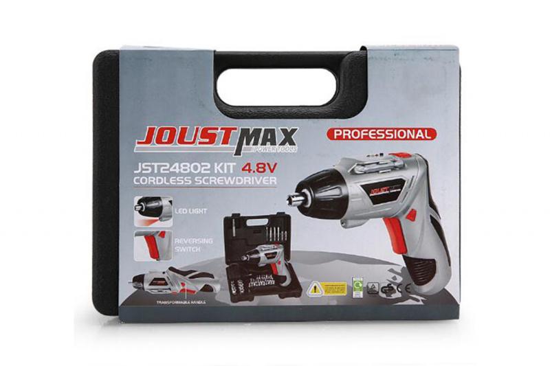 JOUSTMAX 電動螺絲刀套裝 (45件) (JST24802)