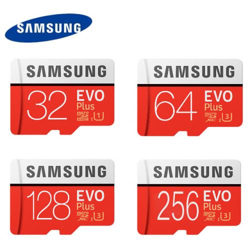 Samsung EVO Plus MicroSD Class 10 記憶卡 [4容量]