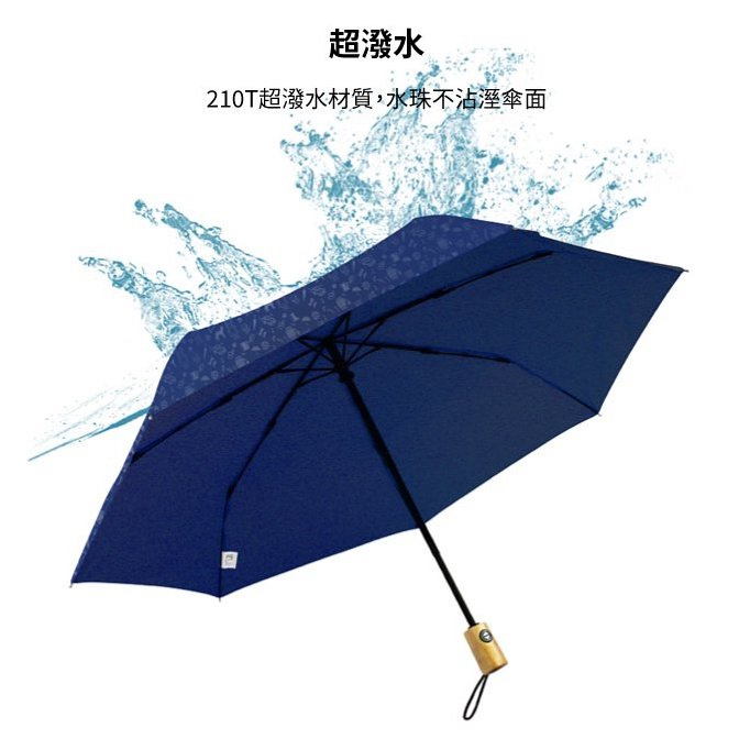 boy BY3073 防潑水易收版防風自動傘 [7色]