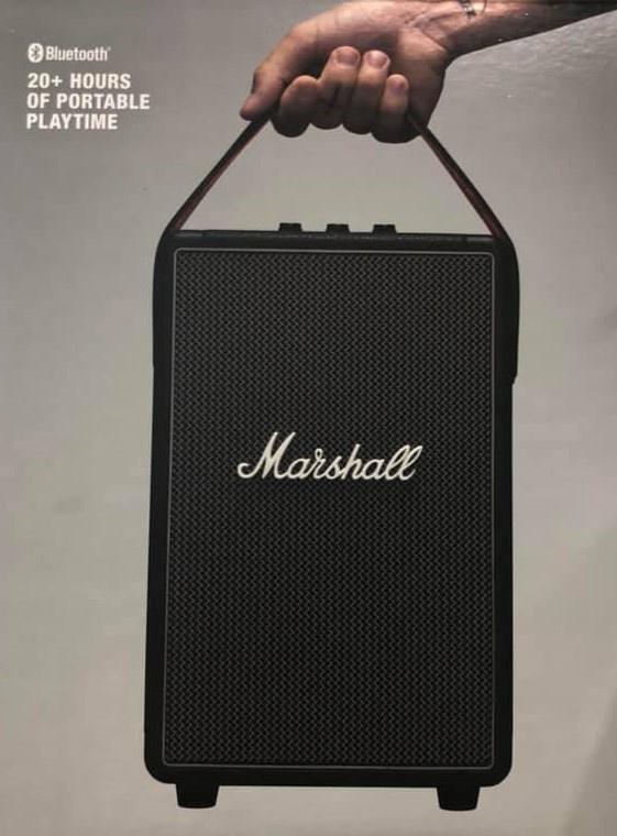 【香港行貨】Marshall Tufton 攜帶式藍牙喇叭 [經典黑]