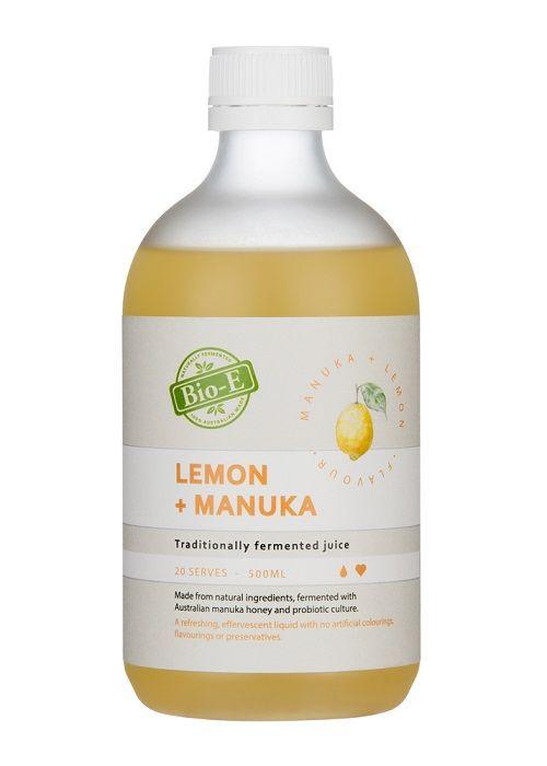 Bio-E 天然有機檸檬 麥盧卡蜂蜜酵素 500ml