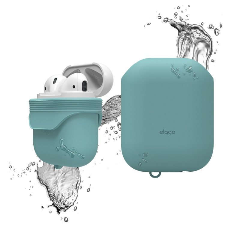 Elago IP67防水防摔矽膠保護套AirPods1/2 有線充電盒專用(7色)