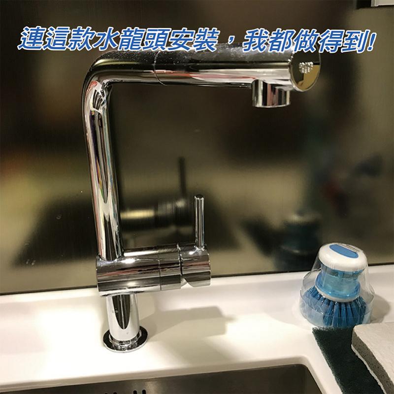 皇家衛兵雙管式不銹鋼陶瓷濾水器(磨沙)