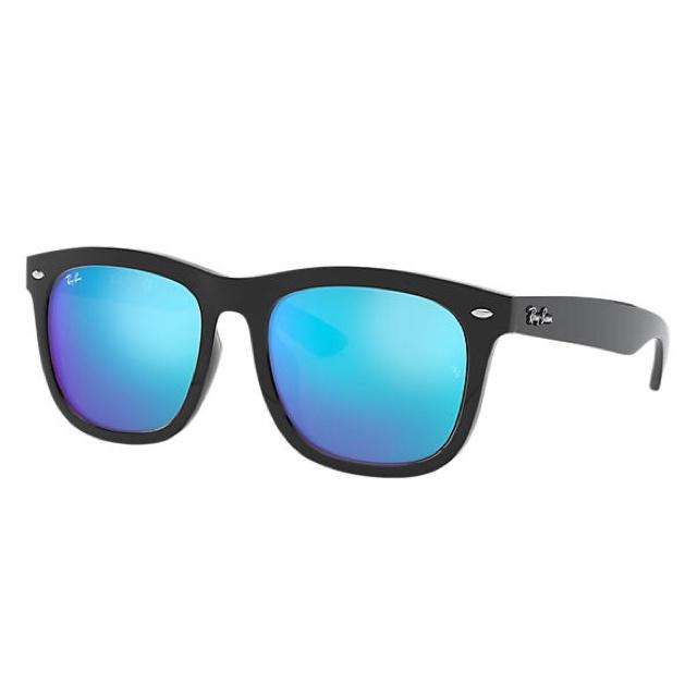 Ray-Ban RB4260D High Street Blue Mirror 藍色反光鏡片太陽眼鏡   601/55 黑色鏡框
