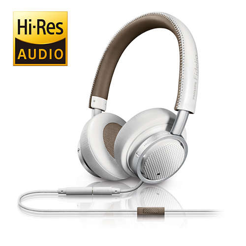 Philips Fidelio M1MKIIWT/27 麥克風耳機 [白色]