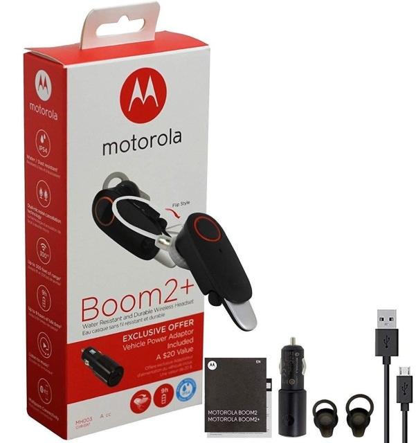 Motorola Boom2+ 防水藍牙耳機