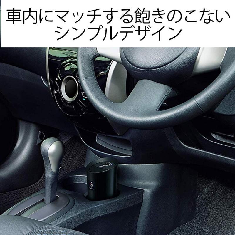 聲寶 - IG-KC15 高濃度除臭除菌離子車用空氣清新機 - 黑色
